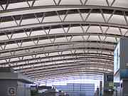 The ceiling, Kansai airport, Osaka., Japan, photo