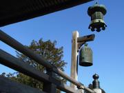 Lantern and bell, Naritasan Shinshoji Temple, Narita, Chiba-ken, Japan, photo