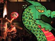 Drum and dragon, Nebuta Festival, Aomori, Japan, photo