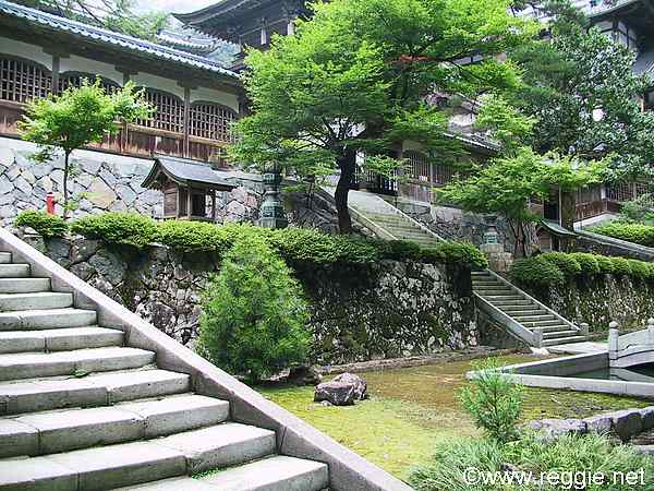 Fukui Japan  city pictures gallery : Inner garden, Eiheiji Temple, Fukui ken, Japan, photo