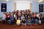 Japanese Cambridge Retreat 20th February 2006 Group Photo, Queen Edith's Chapel, Cambridge