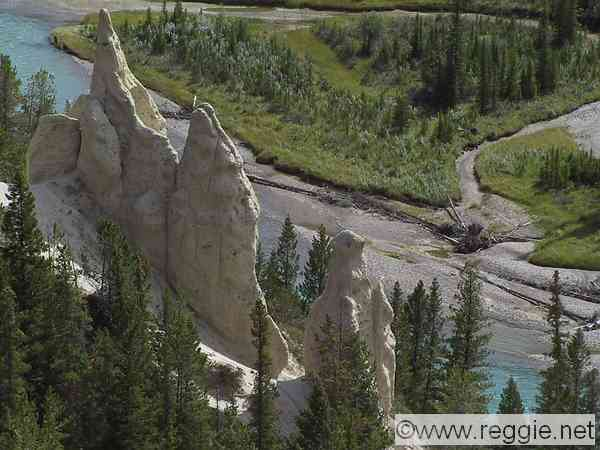 The Hoodoos, Banff, Alberta, Canada, photo