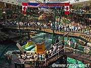 Submarines, West Edmonton Mall, Edmonton, Alberta, Canada, photo