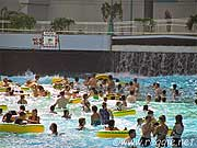 Swimming pool, West Edmonton Mall, Edmonton, Alberta, Canada, photo