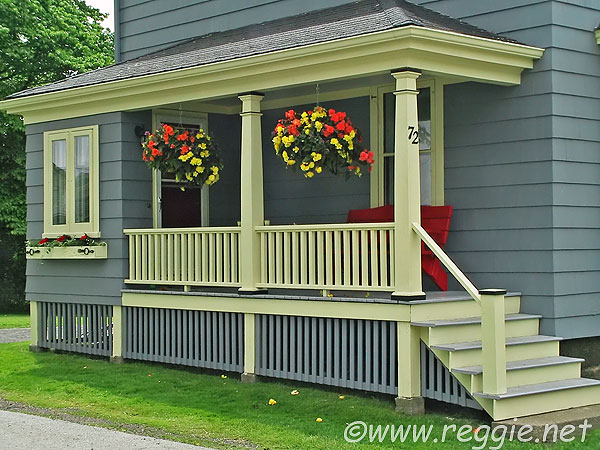 a veranda lunenburg nova scotia canada photo. Black Bedroom Furniture Sets. Home Design Ideas