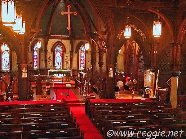St John 39 S Church Interior Lunenburg Nova Scotia Canada Photo