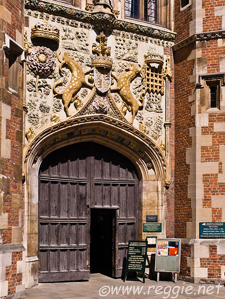 Front Entrance to St. Johns College
