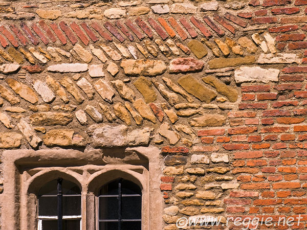 Bricks and Windows, Trinity College, Trinity Lane, Cambridge, England