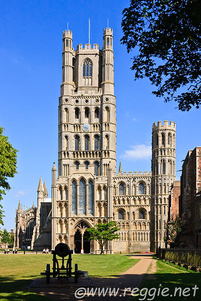 Canon and West Tower, Ely Cathedral