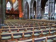 Nave, Chester cathedral, Cheshireの写真