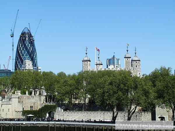Gherkin And Tower Of London London England Photo