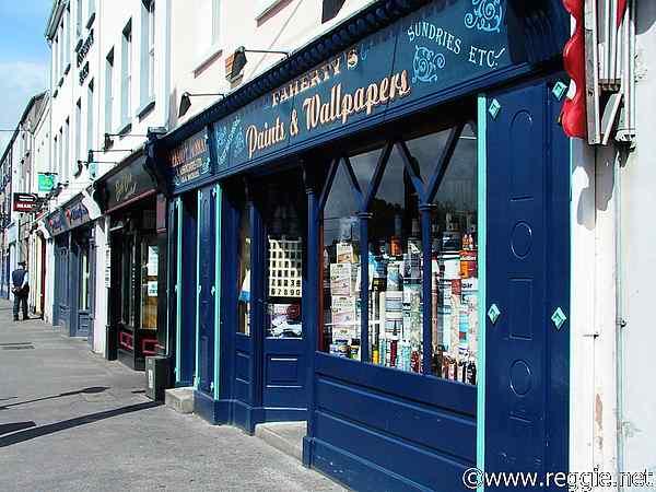 paint shop galway city ireland photo
