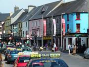Colourful Quay Street, Galway City, Ireland, photo
