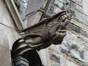 Gargoyle, Gothic church, Kylemore Abbey, Co. Galway, Irelandの写真