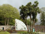 Greenhouse, Kylemore Abbey Victorian gardens, Co. Galway, Irelandの写真