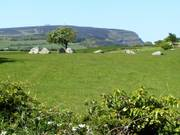 Stone ring, near Carrowmore Megalithic tombs, Co. Sligo, Ireland, photo