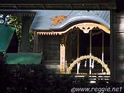 Shrine near Noh stage, Chusonji Temple, Hiraizumi, Iwate-ken, Japan, photo