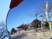 Mirror image, Mt. Yongdu, Busan, Korea, photo