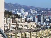 Busan city viewed from near Democracy Park, Busan, Korea, photo